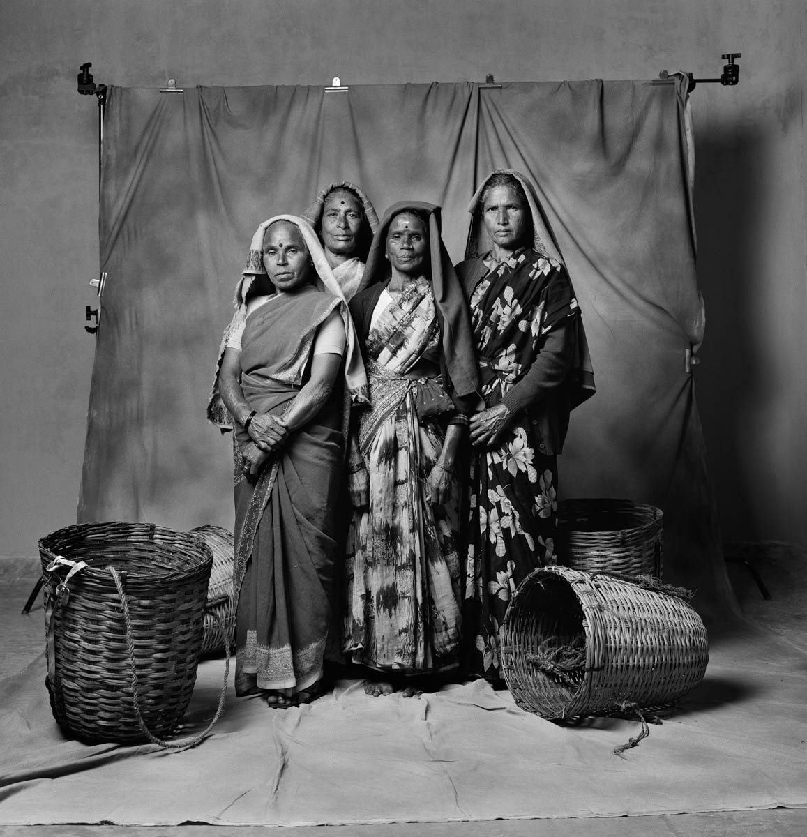 Group Portraits of Indian Women