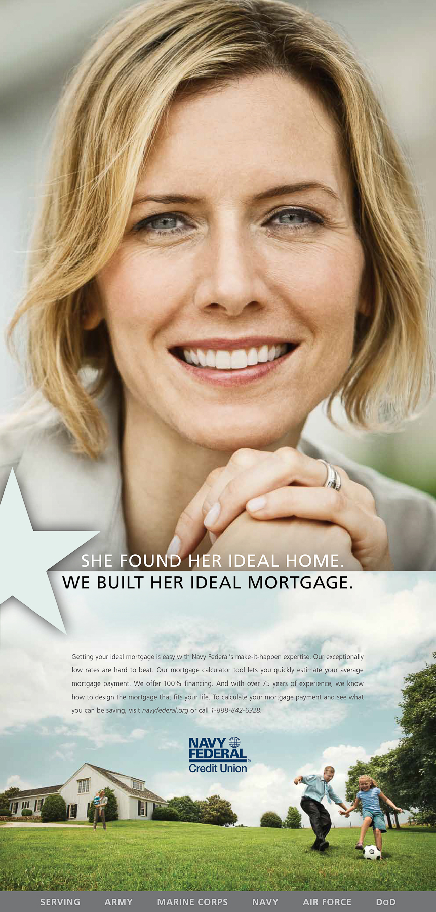 Navy Federal Lifestyle Portrait Advertising