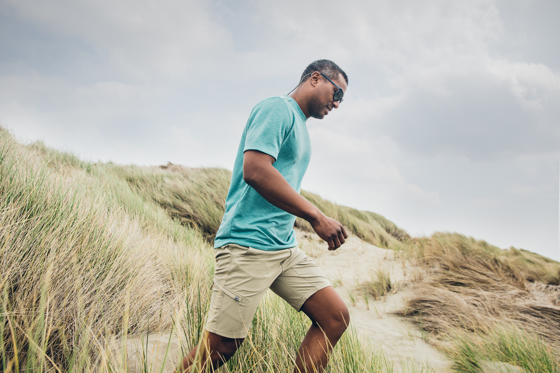 Royal Robbins - Lifestyle Advertising Hiker on Beach