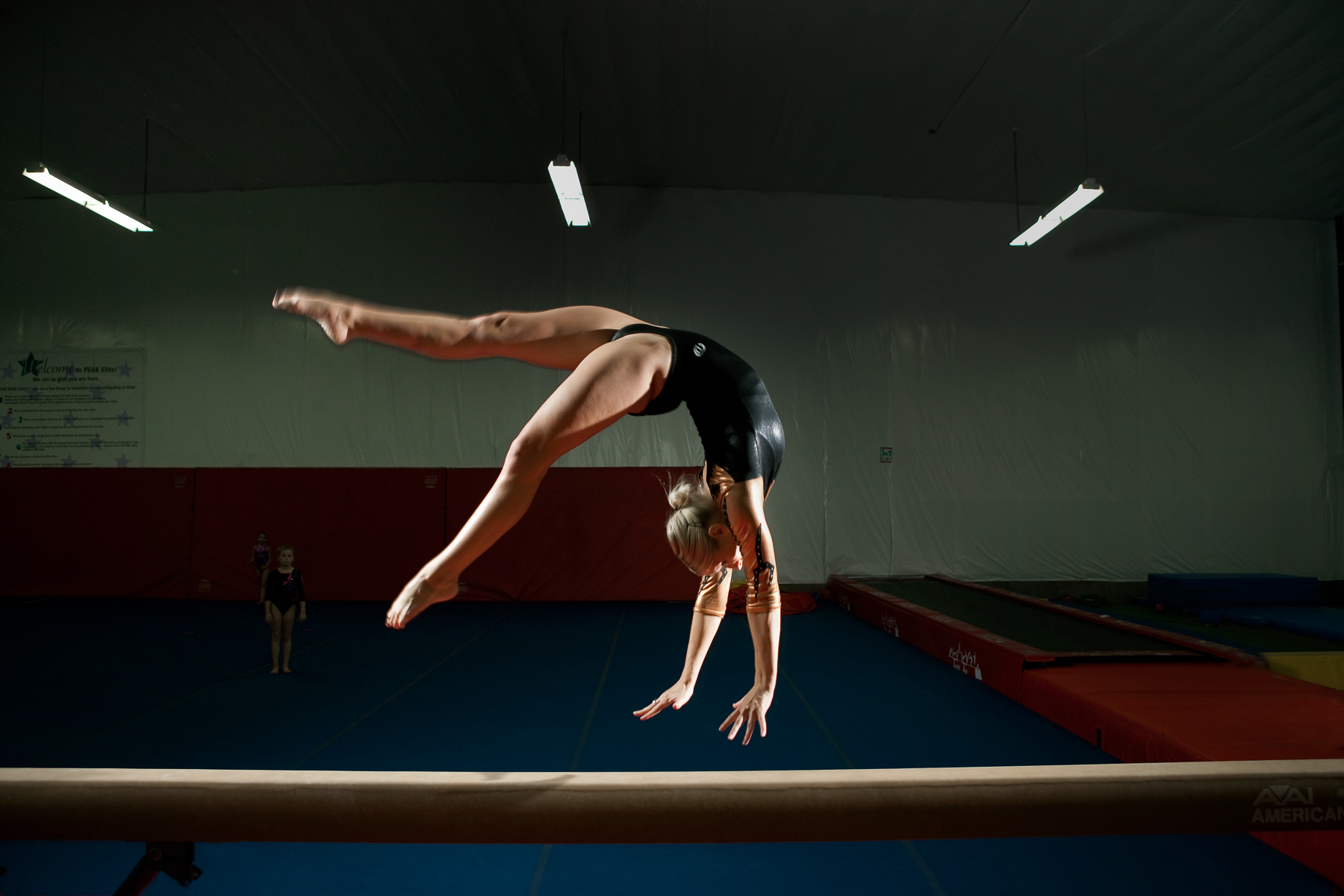 Lifestyle Advertising Gymnastics